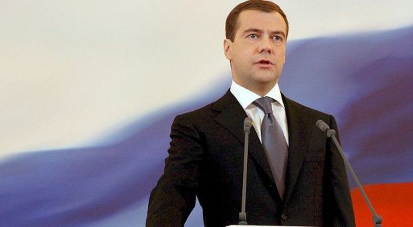 Foto : PM Rusia Dmitry Medvedev (vibizdaily)