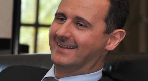 Foto : Presiden Suriah Bashar al-Assad (guardian)