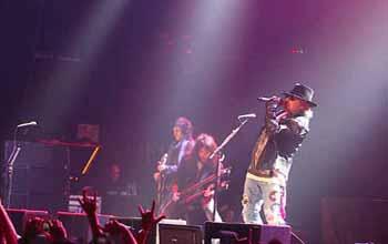Guns N' Roses (foto: Maria Cicilia Galuh/Okezone)