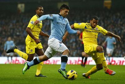 Duel Manchester City vs Reading (foto: Reuters)