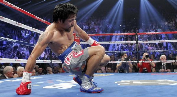 Manny Pacquiao dipercaya Lennox Lewis bisa bangkit kembali/Reuters