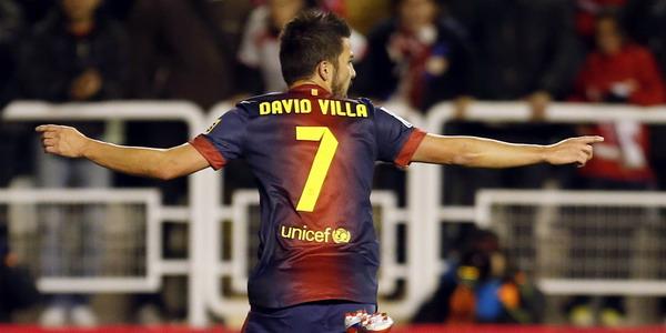 David Villa (foto: Reuters)