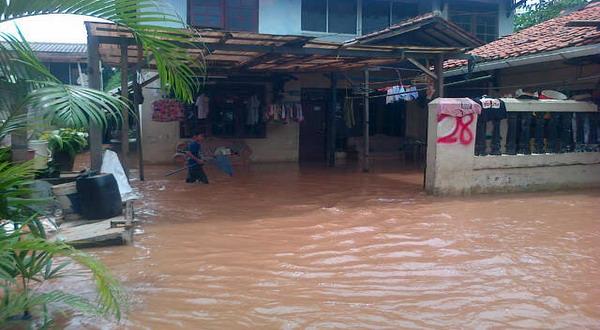 ilustrasi banjir (Foto: Awaludin/Okezone)