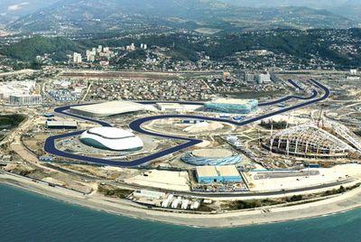 Sirkuit Sochi, Rusia. (Foto: Ist)