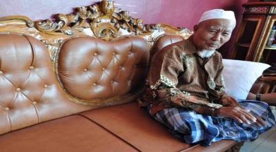 Ibnu Abbas, saksi sejarah PDRI di Bidar Alam (Foto: Rus Akbar/Okezone)
