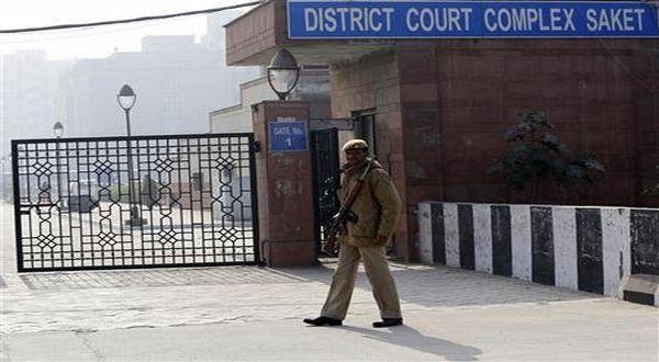 Foto : Pengadilan Distrik Saket, New Delhi (Reuters)