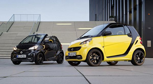 Smart Fortwo Cityflame Lucu Banget