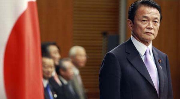 Menkeu Jepang Taro Aso (Foto: Reuters)