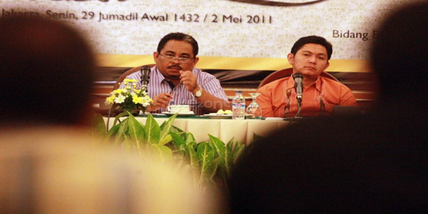 Mantan Presiden PKS, Luthfi Hasan Ishaaq (foto: Okezone)