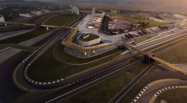 Rancangan Circuit of Wales (Circuitofwales.com)