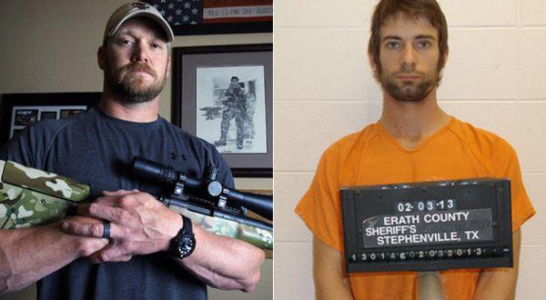 Chris Kyle (kiri) dan penembaknya (kanan) (Foto: AP)