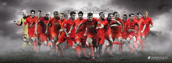 Hasil Karya Dian Qamajaya yang Dijadikan Wallpaper Utama Fan Page Liverpool FC  Berita Bola Starting from fad, to appreciation of the work of Dian Liverpool