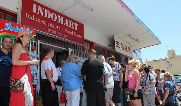 Indomart di Afrika Selatan. (Foto: Dokumentasi Kemendag)