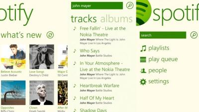Aplikasi Spotifiy Hadir di Windows Phone 8