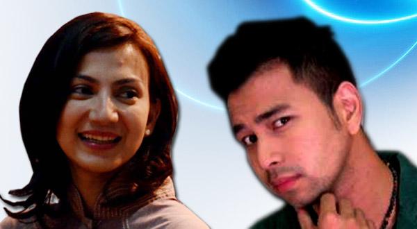 Raffi Ahmad & Wanda (Foto: Okezone)
