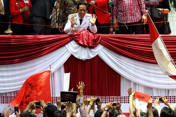 Joko Widodo (Foto: Dede K/okezone)