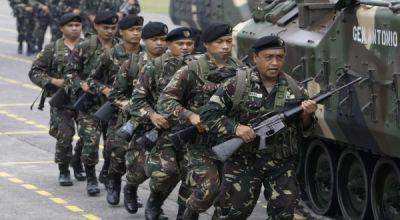 Militer Filipina tingkatkan keamanan (Foto: Reuters)