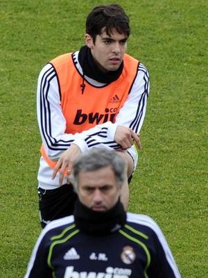 Ricardo Kaka & Jose Mourinho (Foto: Daylife)
