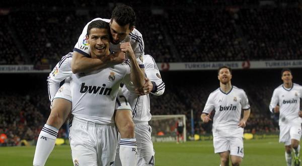 Dua gol Ronaldo sukses bungkam Raksasa Katalan. (Foto: Reuters)