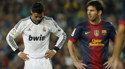 Cristiano Ronaldo dan Lionel Messi. (Foto: Reuters)