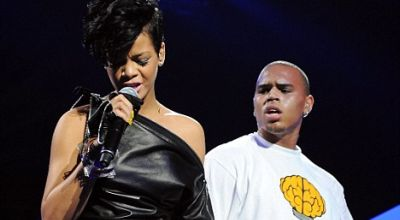Rihanna & Chris Brown (Foto: The Sun)