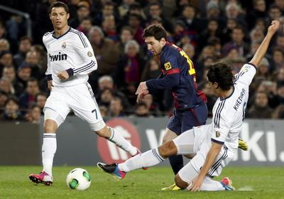 Duel Barca vs Madrid di ajang Copa del Rey (foto: Reuters)