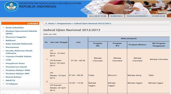 Jadwal Un 2013 Download Soal Soal Snmptn Sbmptn 2014 Gratis