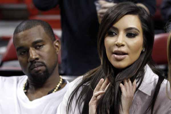 Kanye West Ingin Punya Enam Anak dari Kim Kardashian