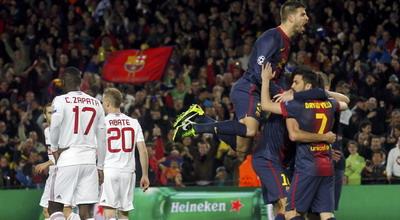 Barcelona Cetak Rekor Saat menaklukkan AC Milan