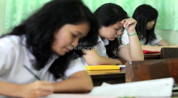 Ilustrasi: siswa belajar di ruang kelas. (Foto: Okezone)