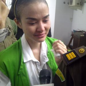 Dipenjara, Cynthiara Alona Akrab dengan Angelina Sondakh