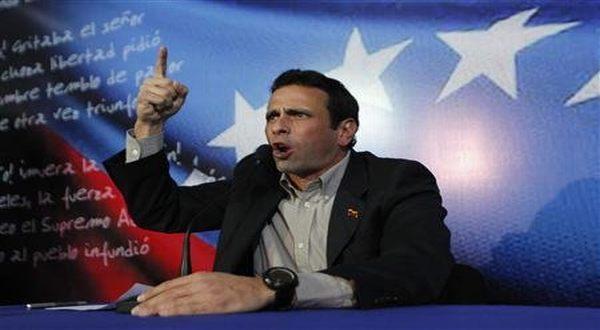 Foto : Henrique Capriles Radonski (Reuters)