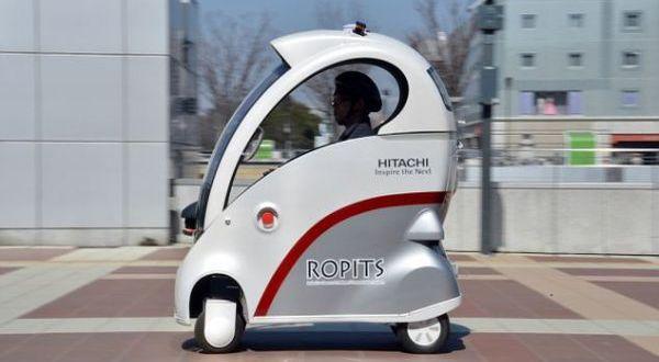 Mobil Terkecil Di Dunia, Mobil Kemudi Otomatis Hitachi