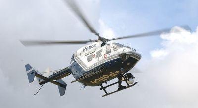 Ilustrasi Helikopter Polisi (Foto: PerthNow)