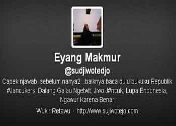 """Eyang Subur Menghilang, Muncul """"Eyang Makmur"""""""