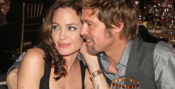 Angelina Jolie Bantah Sudah Nikahi Brad Pitt