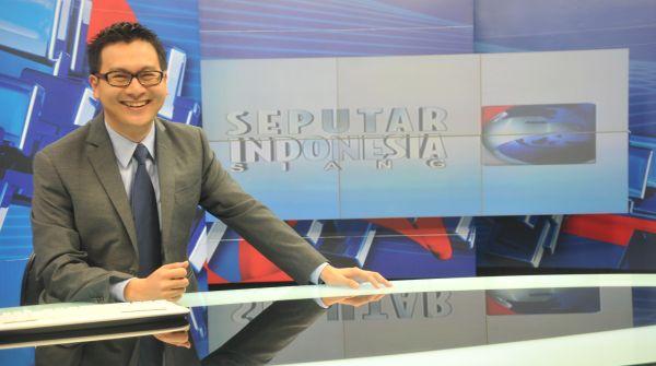 Presenter Berita Terfavorit, Michael Tjandra Akhiri Dominasi Putra Nababan