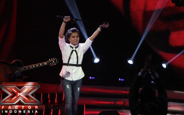Penampilan terakhir Alex Rudiart (foto: X Factor Indonesia)