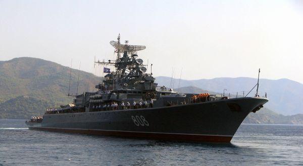 Foto : Kapal Perang Rusia (IST)