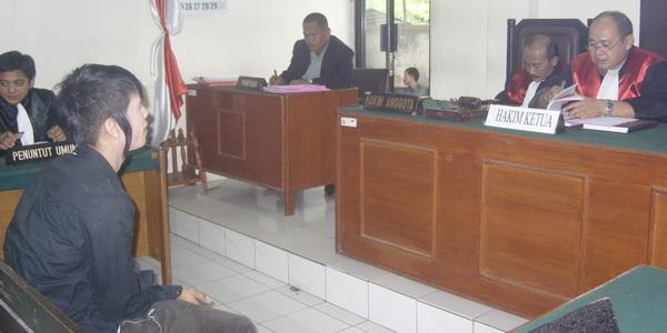 Kasus Pencabulan, Andhika Dituntut 10 Bulan Penjara