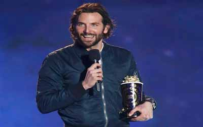 Piala Pertama MTV Movie Awards 2013 Diraih Bradley Cooper