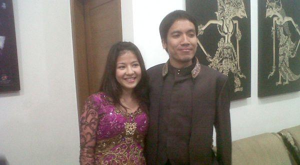 Desta Nikahi Natasha Rizky di Hari Kartini