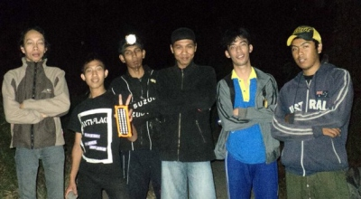 Sebagian anggota D'Ghosbust Surabaya Comunity (Foto: Nurul Arifin/Okezone)