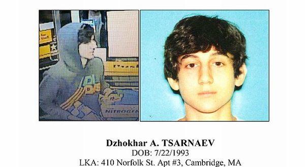 Foto : Dzokhar Tsarnaev (AP)