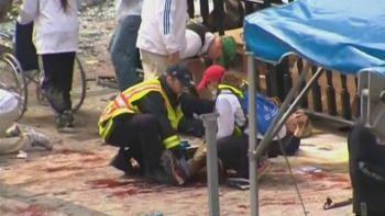 Korban Bom Boston Mengantri untuk Diamputasi