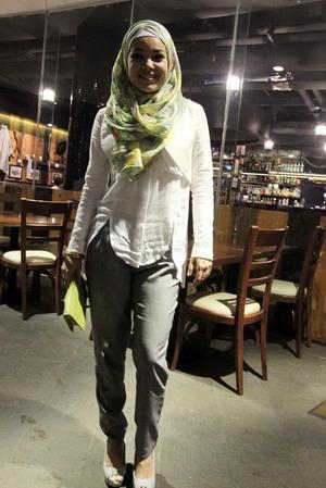 Cantik Berhijab Ala Dewi Sandra Okezone Livestyle