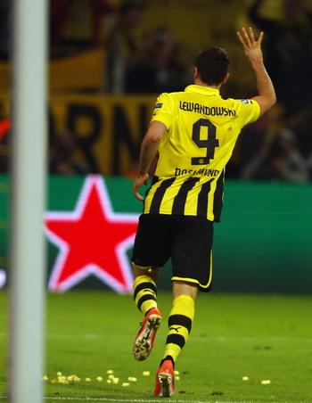 Robert Lewandowski - Borussia Dortmund (Foto: UEFA)