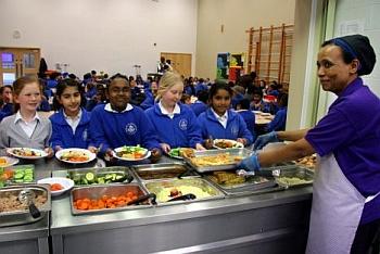 Kantin Sehat, Sekolah Ini Sediakan Menu Vegetarian