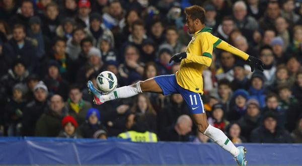 Neymar Da Silva. (Foto: Reuters)