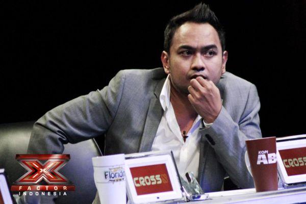Bebi Romeo jadi juri X Factor Indonesia (Foto: Luthfi/okezone)